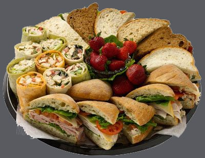 Orange County Bagel Event Catering Platter